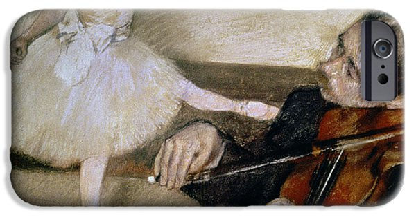 Violin iPhone 6s Case - The Dance Lesson by Edgar Degas
