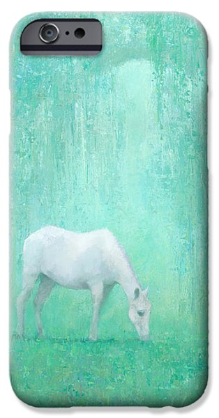 Horse iPhone 6s Case - The Green Glade by Steve Mitchell