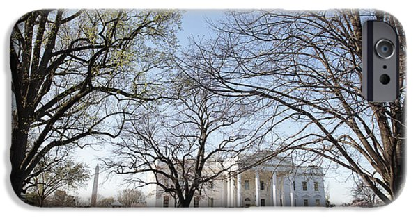 Whitehouse iPhone 6s Case - The White House And Lawns by Neil Overy