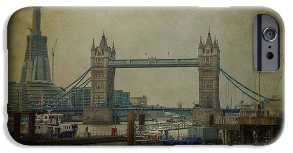 IPhone 6s Case featuring the photograph Tower Bridge. by Clare Bambers