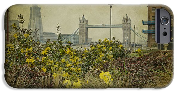 IPhone 6s Case featuring the photograph Tower Bridge In Springtime. by Clare Bambers