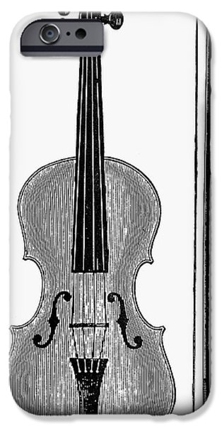 Violin iPhone 6s Case - Violin And Bow by Granger