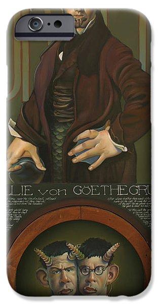 Yak iPhone 6s Case - Willie Von Goethegrupf by Patrick Anthony Pierson
