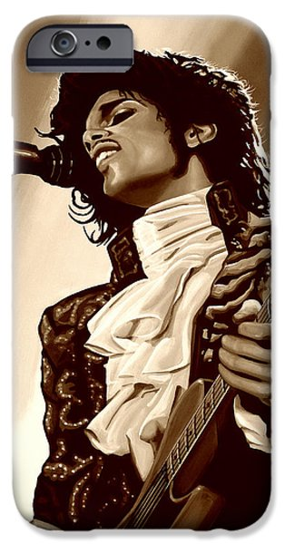 Prince The Artist IPhone 6s Case by Paul Meijering