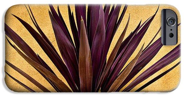 Desert iPhone 6s Case -  Purple Giant Dracaena Santa Fe by John Hansen