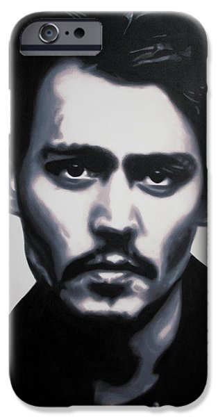 - Johnny - IPhone Case by Luis Ludzska
