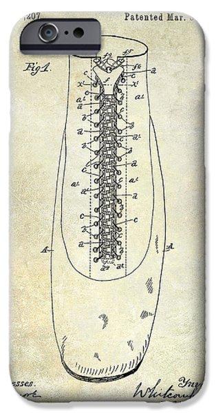 1896 Shoe Patent  IPhone 6s Case by Jon Neidert
