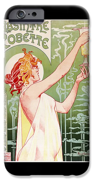 Absinthe Robette IPhone 6s Case by Henri Privat-Livemont