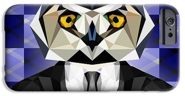 Abstract Owl IPhone 6s Case