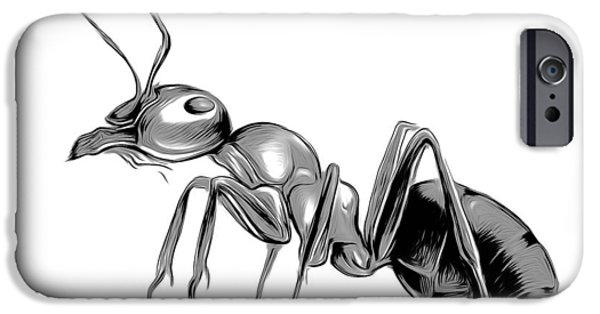 Ant iPhone 6s Case - Ant by Greg Joens