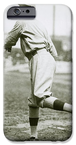 Babe Ruth Pitching IPhone 6s Case