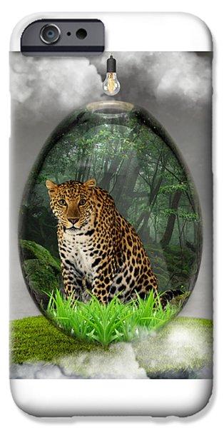 Big Cat Leopard Art IPhone 6s Case