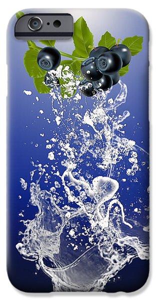 Blueberry Splash IPhone 6s Case