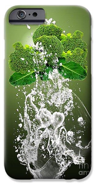 Broccoli Splash IPhone 6s Case