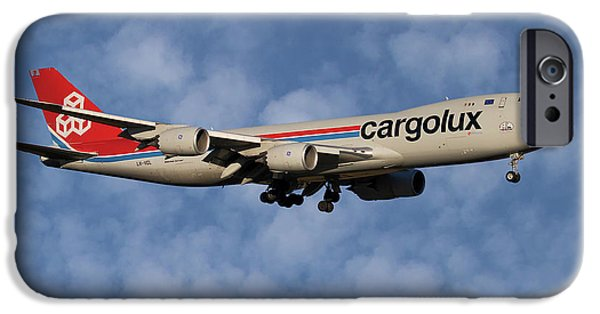 Jet iPhone 6s Case - Cargolux Boeing 747-8r7 1 by Smart Aviation