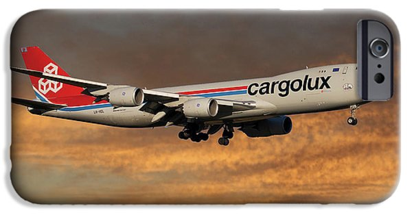 Jet iPhone 6s Case - Cargolux Boeing 747-8r7 3 by Smart Aviation