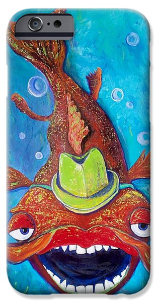 Catfish Clyde IPhone 6s Case by Vickie Scarlett-Fisher