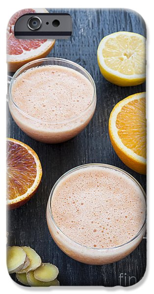Smoothie iPhone 6s Case - Citrus Smoothies by Elena Elisseeva