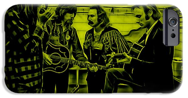Crosby Stills Nash And Young IPhone 6s Case by Marvin Blaine