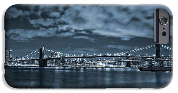 Brooklyn Bridge iPhone 6s Case - East River View by Az Jackson