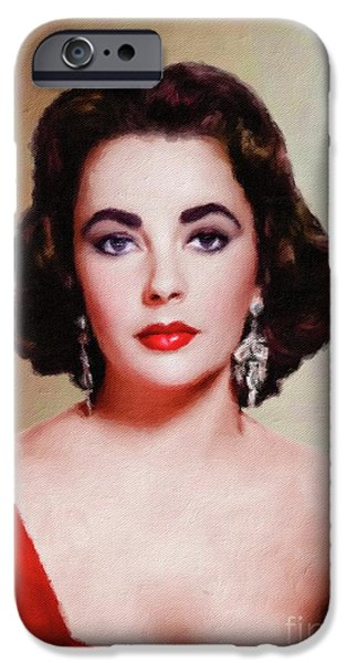 Elizabeth Taylor Hollywood Actress IPhone 6s Case