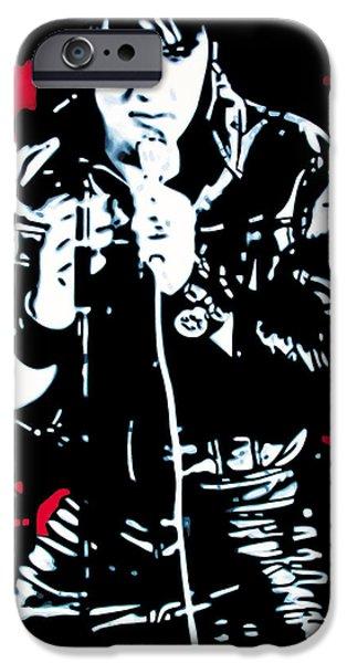 Elvis IPhone 6s Case by Luis Ludzska