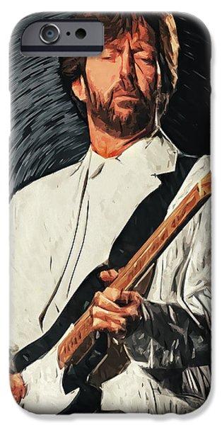 Eric Clapton iPhone 6s Case - Eric Clapton by Zapista