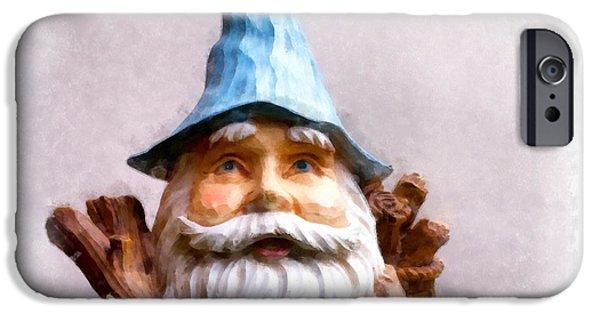 Elf iPhone 6s Case - Garden Gnome by Edward Fielding