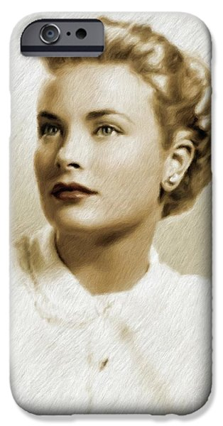 Grace Kelly, Vintage Actress IPhone 6s Case