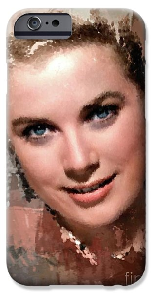 Grace Kelly, Vintage Hollywood Actress IPhone 6s Case by Mary Bassett