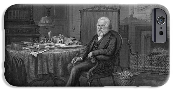 Henry Wadsworth Longfellow IPhone Case by Granger