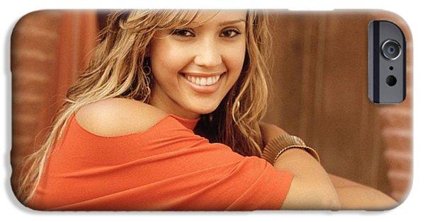 Jessica Alba IPhone 6s Case