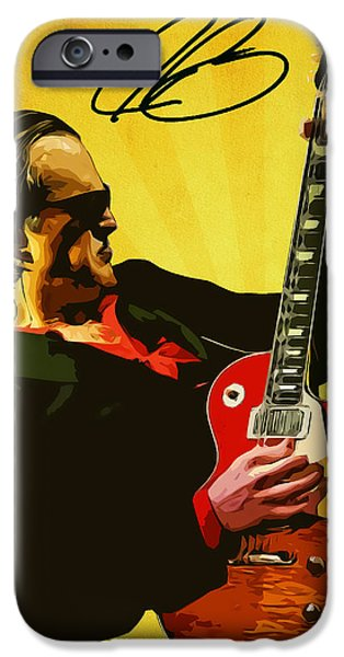 Joe Bonamassa IPhone 6s Case by Semih Yurdabak