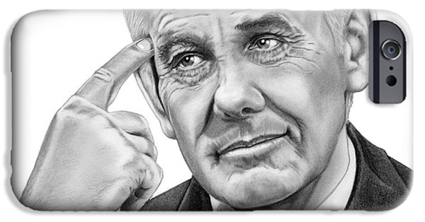 Johnny Carson IPhone 6s Case by Murphy Elliott