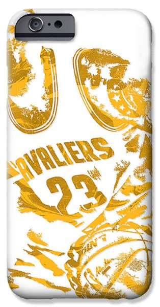 Lebron James Cleveland Cavaliers Pixel Art 7 IPhone 6s Case