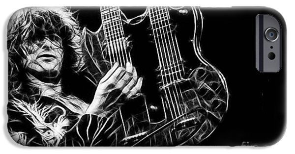Led Zeppelin Jimmy Page IPhone 6s Case by Marvin Blaine
