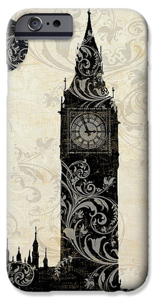 Moon Over London IPhone 6s Case by Mindy Sommers