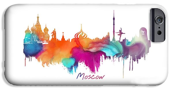 Moscow  IPhone 6s Case by Justyna JBJart