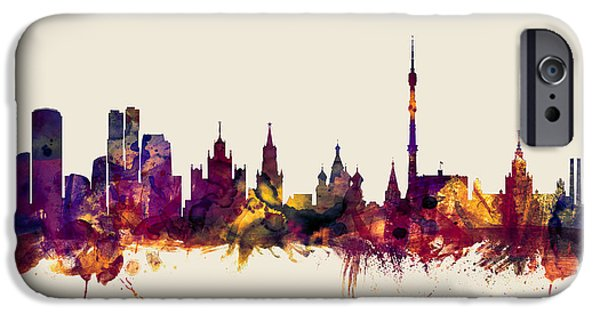 Moscow Russia Skyline IPhone 6s Case