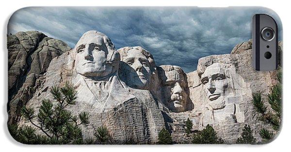 Mount Rushmore II IPhone 6s Case by Tom Mc Nemar