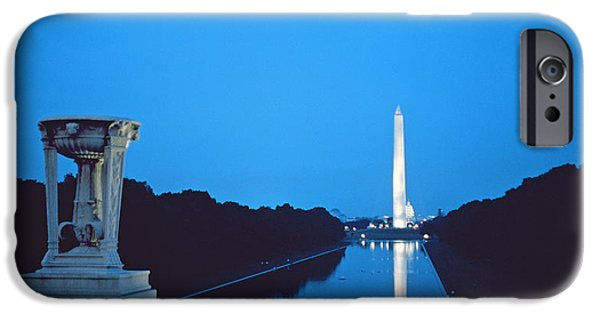 Night View Of The Washington Monument Across The National Mall IPhone 6s Case by American School