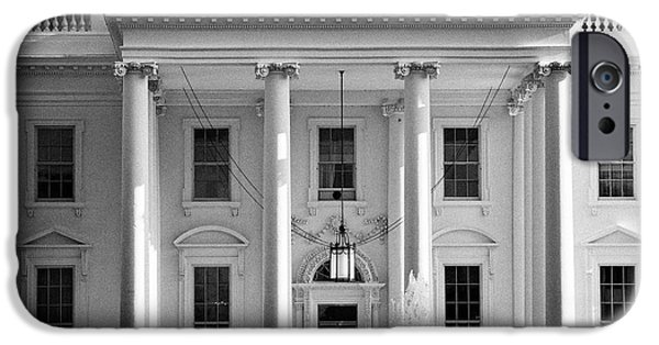 Whitehouse iPhone 6s Case - northern facade of the white house Washington DC USA by Joe Fox