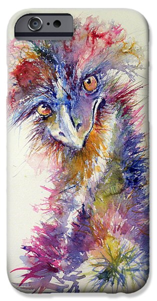 Ostrich iPhone 6s Case - Ostrich by Kovacs Anna Brigitta