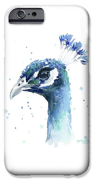 Peacock Watercolor IPhone 6s Case