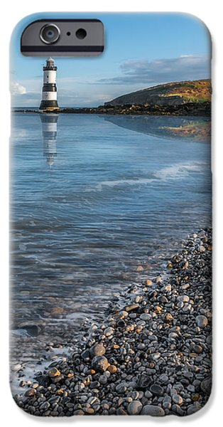 Puffin iPhone 6s Case - Penmon Point Lighthouse by Adrian Evans