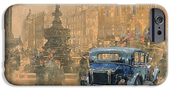 Car iPhone 6s Case - Phantom In Piccadilly  by Peter Miller