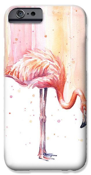 Pink Flamingo - Facing Right IPhone 6s Case
