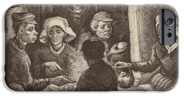 Potato Eaters, 1885 IPhone 6s Case by Vincent Van Gogh