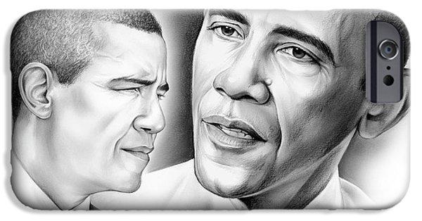 President Barack Obama IPhone 6s Case by Greg Joens