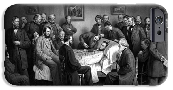 Abraham Lincoln iPhone 6s Case - President Lincoln's Deathbed by War Is Hell Store